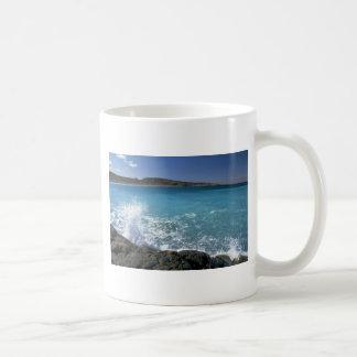 Breaking wave, Hudson Bay, Canada Classic White Coffee Mug