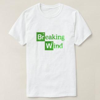 Breaking Wind funny bad parody spoof T-Shirt