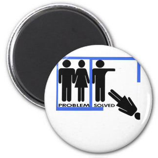 Breakup and Divorce Designs 6 Cm Round Magnet