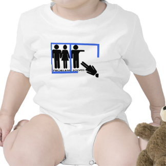 Breakup and Divorce Designs Baby Bodysuits