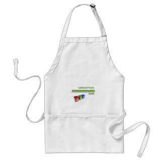 Breakup Recycling Slogan Aprons