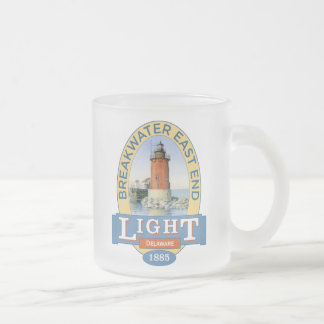 Breakwater East End Lighthouse Frosted Glass Coffee Mug