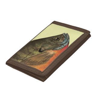 Bream, Bluegill Trifold Wallet