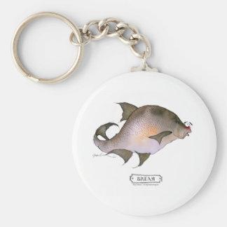 Bream fish, tony fernandes keychain