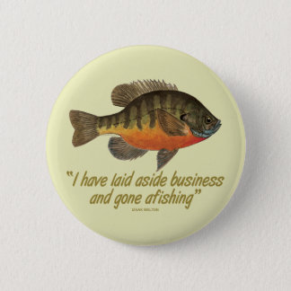 Bream Fishing 6 Cm Round Badge