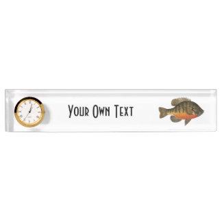 Bream Fishing Name Plate