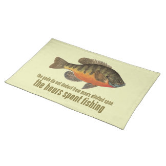 Bream Fishing Placemat