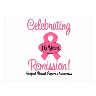 Breast Cancer 16 Year Remission Post Cards