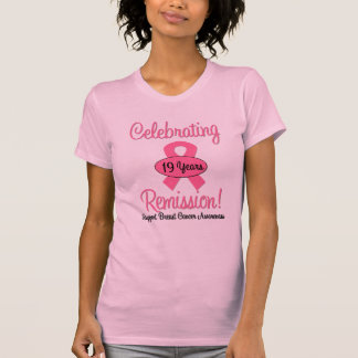 Breast Cancer 19 Year Remission T-shirts