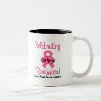 Breast Cancer 20 Year Remission Mug