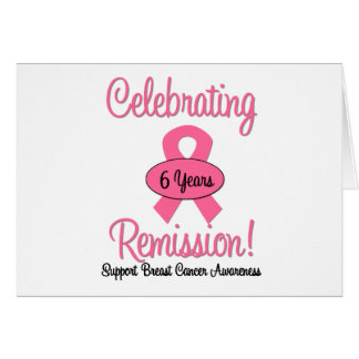 Breast Cancer 6 Year Remission Cards