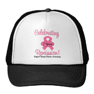 Breast Cancer 7 Year Remission Hats