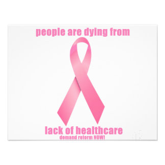 Breast Cancer and HealthCare Custom Invites