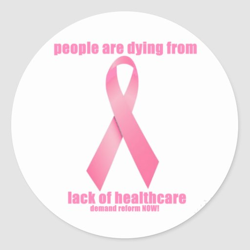Breast Cancer and HealthCare Sticker