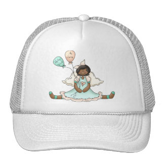 Breast Cancer Angel (2) Mesh Hats