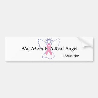 Breast Cancer Angel Bumper Sticker
