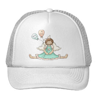 Breast Cancer Angel Trucker Hat