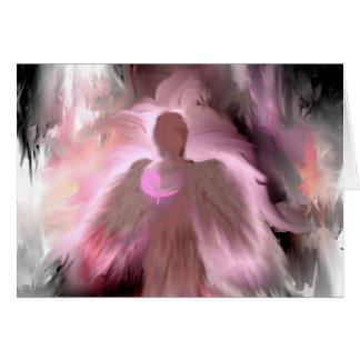 Breast Cancer Angel Card