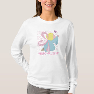 Breast Cancer Angel Customisable T-Shirt