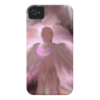 Breast Cancer Angel iPhone 4 Case-Mate Cases