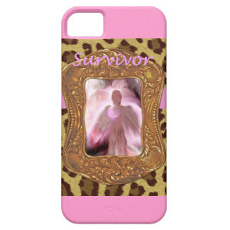 Breast Cancer Angel Survivor iPhone 5 Cover