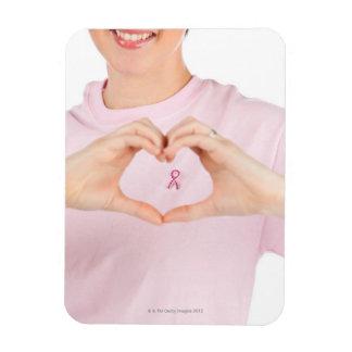 Breast Cancer Awareness 2 Rectangular Magnet
