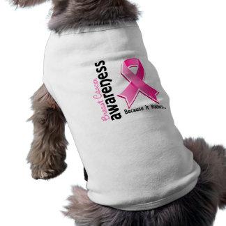 Breast Cancer Awareness 5 Sleeveless Dog Shirt