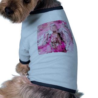Breast Cancer Awareness Angel #2 Pet T-shirt