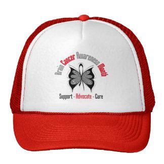 Breast Cancer Awareness Butterfly Trucker Hat
