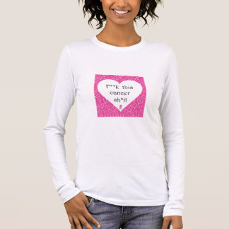 Breast Cancer Awareness - Cancer is Rude! Long Sleeve T-Shirt