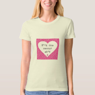 Breast Cancer Awareness - Cancer is Rude Organic T T-Shirt