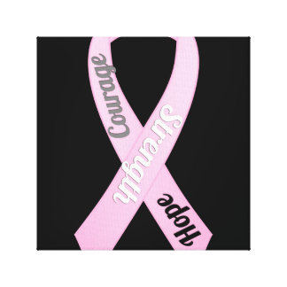 Breast Cancer Awareness canvas art