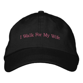 Breast Cancer Awareness Cap Embroidered Hats
