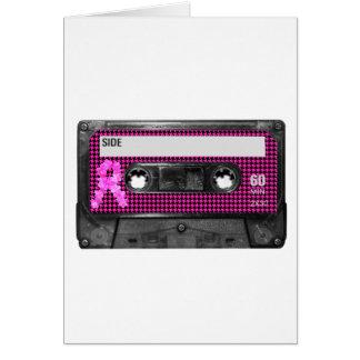 Breast Cancer Awareness Cassette Cards