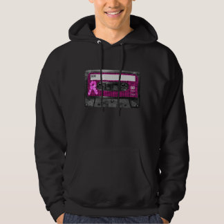 Breast Cancer Awareness Cassette Hoodie