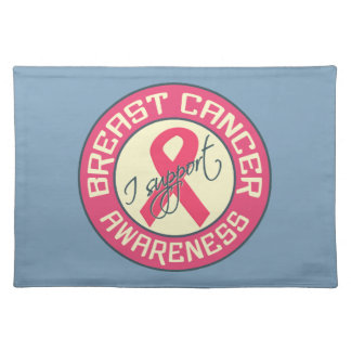 Breast Cancer Awareness custom placemat