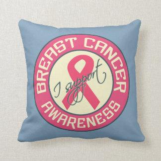 Breast Cancer Awareness custom throw pillow
