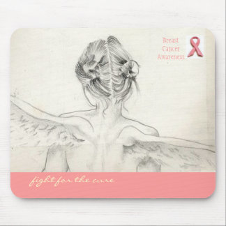 """Breast Cancer awareness """"Fight for the cure"""" mouse Mouse Pad"""