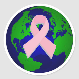 Breast Cancer Awareness for All Classic Round Sticker