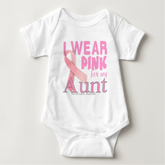 Breast Cancer Awareness for Aunt Baby Bodysuit