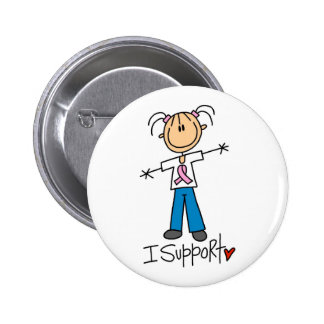 Breast Cancer Awareness Gift 6 Cm Round Badge
