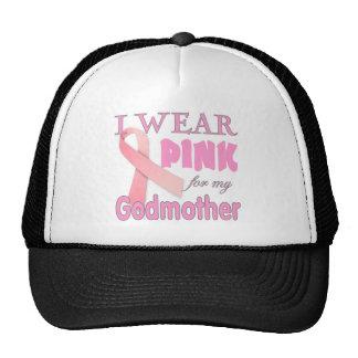 breast cancer awareness godmother cap
