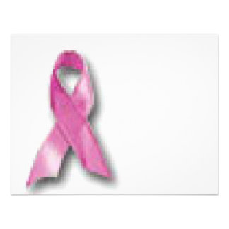 Breast Cancer Awareness Personalized Invite