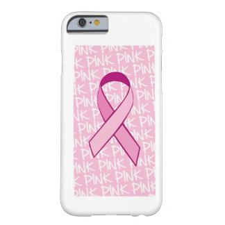 Breast Cancer Awareness iPhone 6 case - Pink Ribbo Barely There iPhone 6 Case