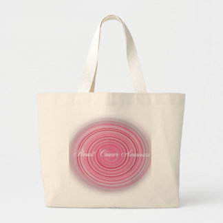 Breast Cancer Awareness Large Tote Bag