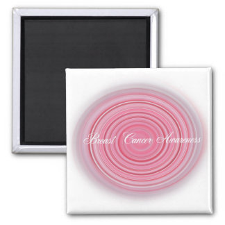 Breast Cancer Awareness Square Magnet
