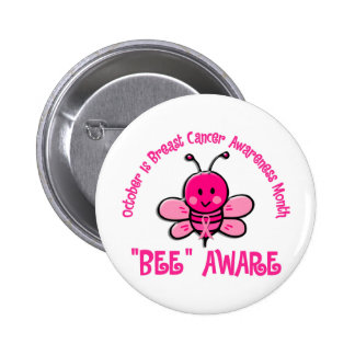 Breast Cancer Awareness Month Buttons