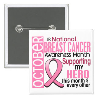 Breast Cancer Awareness Month Pinback Button