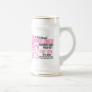 Breast Cancer Awareness Month Every Month For ME Mug