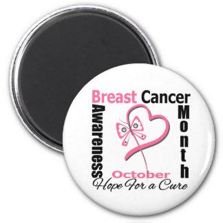 Breast Cancer AWARENESS Month Fridge Magnet